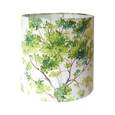 Lamp Shade Lampshade / Trees by Vilber / Green / by CruelMountain