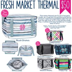 Thirty-One Fresh Market Thermal - Spring/Summer 2017