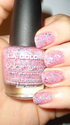 BreezyTheNailPolishLover: LA Colors - Candy Sprinkles Swatches and Review!