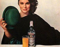 vodka ad – Etsy Smirnoff, Gin, Vodka, Etsy, Jeans