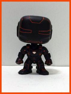 Pop Funko Custom Tron Iron Man Figure Variant Marvel Ironman Exclusive Avengers | eBay