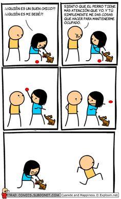 El perro tiene más atención que yo. #humor #risa #graciosas #chistosas #divertidas