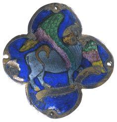 The bull, symbol of Saint Luke the Evangelist Bull Symbol, Luke The Evangelist, Medieval Art, 15th Century, Fantastic Beasts, Metal Working, Saints, Symbols, Drawings