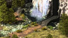 Project Eternity Update #49: Water, Trees, Day/Night, Lighting... All Th...