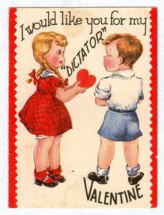 WTF Valentine Cards, 1920s - Retronaut