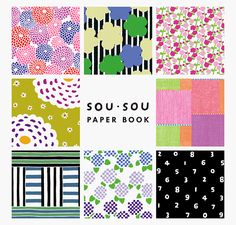 All square pages are removable and beautifully designed for your creative works: writing, folding, cutting, decorating… enjoy papers in various ways! All papers have soe marks on the reverse side to show how to fold the papers to create such shapes as tiny boxes or small envelopes. Japanese/English in part. Mostly visual.SOU・SOU is a Japanese brand which produces apparels and accessories with using unique and bold textiles designed by Katsuji Wakisaka, a former textile designer of ...