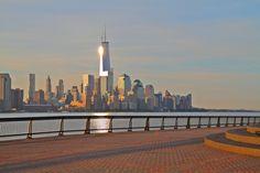 Lower Manhattan From Pier A Hoboken