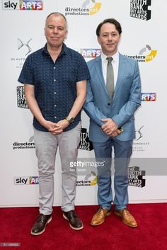 Reece Shearsmith and Steve Pemberton attend The Southbank Sky Arts Awards 2017 at The Savoy Hotel on July 2017 in London, England. Tv Radio, Tv On The Radio, Inside No 9, Steve Pemberton, Reece Shearsmith, League Of Gentlemen, Savoy Hotel, Alan Turing, Mark Gatiss