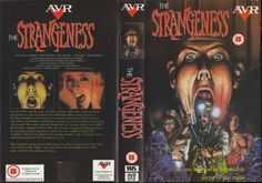 The Strangeness VHS cover