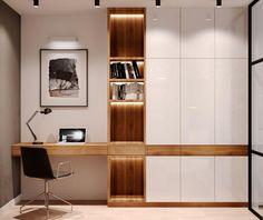 40 Stunning Modern Home Office Design Ideas