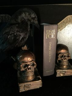For my future house. Edgar Allen Poe, Edgar Allan, Gothic House, Victorian Gothic, Gothic Mansion, Bar Medieval, Viking Culture, Art Nouveau, Witch Decor