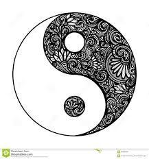 Resultado de imagen para disegni yin e yang