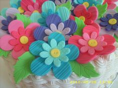icing flowers easy and effective