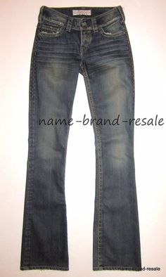 914be2f77d2 1921 JEANS Bootcut Leg Womens Juniors 24 x 34 TALL LONG Faded Wash Denim   1921Jeans