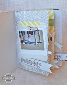 Vacation mini-album by Nina Ostermann showcasing one favorite photo a day from her vacation.