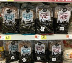 Sam's Choice Gluten Free Bread available just recently available at the local Walmart grocery - this is really good