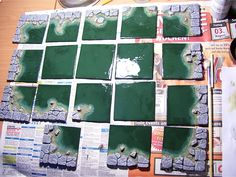 water caverns for modular dungeon ideas