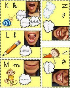 Como muchos ya sabéis, estoy trabajando en la creación de un material bastante complejo para trabajar problemas articulatorios con apoyo vis... Primary Activities, Language Activities, Kindergarten Activities, Apraxia, Speech Language Pathology, Speech And Language, Teaching Kids, Kids Learning, English Teaching Materials