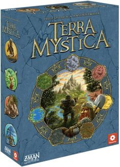 Terra Mystica Publisher: Z-Man Games/Filosofia Editions Designers: Helge Ostertag, Jens Drögemüller Artist: Dennis Lohausen Players: 2-5 Ages: 14+ Playing Time: 30 min per player MSRP $79.99 Releas...