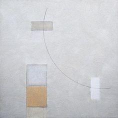 Spring Mist, 2015-16 Acrylic and mixed media on canvas, 46 x 46 cm