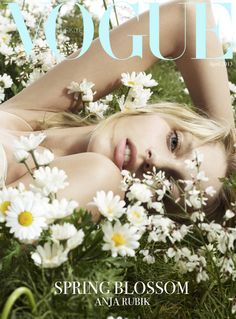 Vogue Turkey April 2013 | Anja Rubik | Cuneyt Akeroglu