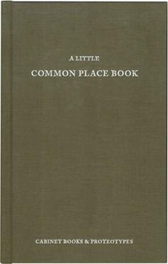 The commonplace book was the primary tool used by Enlightenment savants to record and classify valuable thoughts encountered in their reading. In the New York R