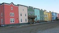 Dawson City Westermark Inn Garage Doors, Multi Story Building, City, Outdoor Decor, Home Decor, Decoration Home, Room Decor, Cities, Carriage Doors