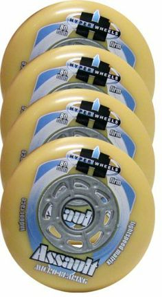 HYPER Inline Wheels ASSAULT MICRO CORE 80mm 93A FIRM x4 W/ Bearings by Hyper. $16.00. #1 IN THE WORLD OF WHEELS - THE FASTEST RACING PERFORMANCE WHEEL IN THE WORLD - INDOOR RACE - 80mm FIRM (93A) - ASSAULT MICRO CORE - WITH BEARINGS. With more podium time than any other race wheels, the Assault has been proven by top competitors worldwide. Long life and superior performance make this wheel a winner year after year. ALL NEW, OPTIMIZED LIGHTSPEED MATRIX HUB - SUPE...