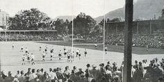 Old pic of Newlands Rugby Stadium. Visit South Africa, Cape Town South Africa, Old Pictures, Old Photos, V&a Waterfront, Out Of Africa, Most Beautiful Cities, Vintage Photographs, Dolores Park