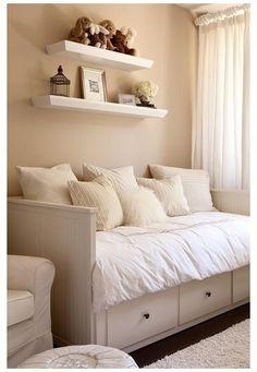Ikea Hemnes Daybed, Hemnes Bed, Ikea Sofa, Ikea Malm, Ikea Furniture, Plywood Furniture, Bedroom Furniture, Furniture Ideas, Modern Furniture