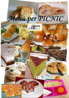 Menu per picnic - Con l'arrivo dell' estate si pensa sempre più spesso a scampagnate in campagna, mare o montagna, e ovviamente, al cesto pieno di leccornie