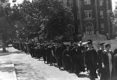 Graduation Day 1935. Courtesy of Explore UK.