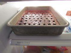 Caramel Brownie Cake