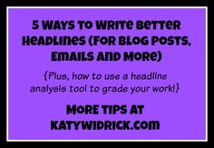 5 Ways to Write Bett