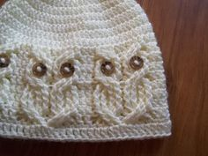 Cable Crocheted Hat