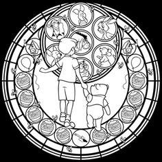 SG: Winnie the Pooh -line art- by Akili-Amethyst