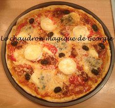Pâte à Pizza au Thermomix - Le chaudron magique
