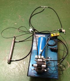 A bespoke hydraulic system; designed for an original equipment manufacturer of mobile equipment to operate a lifting axle and jockey wheel. Click here for more information http://www.hydraulicsonline.com/mobile-hydraulics
