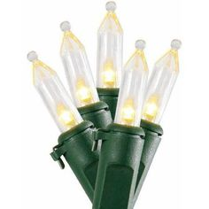 Holiday Time Incandescent Style Led Christmas Lights Warm