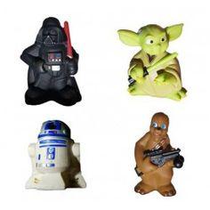 Lot de 4 figurines Star Wars