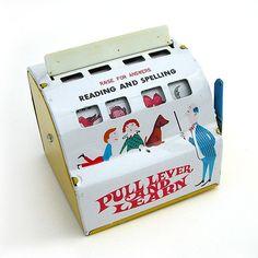 Vintage tin spelling toy   Flickr - Photo Sharing!