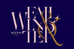 Budapest Central European Fashion Week brand identity by Kissmiklos Typography Logo, Graphic Design Typography, Lettering, Design Agency, Branding Design, Logo Design, Branding Agency, Type Design, 3d Design