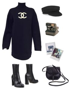 """Paris"" by beeby-doll ❤ liked on Polyvore featuring Étoile Isabel Marant, Karl Lagerfeld, Ann Demeulemeester and Polaroid"