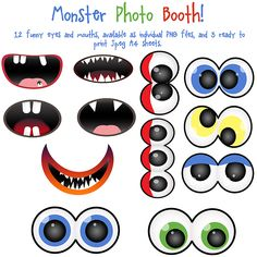 Monster Photo Booth Clip Art by ~AllThingsPrecious on deviantART