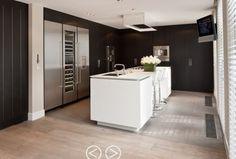 Piet Boon keukens | Keuken - wit metallic zwart Door Tamara