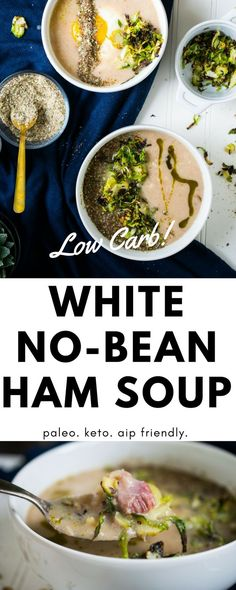 White No-Bean + Ham
