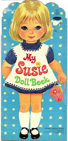 My Susie Doll * 1500 free paper dolls at Arielle Gabriel's The International Paper Doll Society for paper doll pals at Pinterest, thanks to all of you..! *