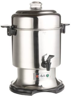 Melitta Percolator Coffee Urn ** A special product just for you. Chocolate Covered Coffee Beans, Fresh Coffee Beans, Coffee Maker Reviews, Best Coffee Maker, Coffee Drinks, Coffee Cans, Coffee Percolator, Melitta Coffee Maker, Coffee Accessories