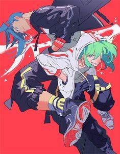 Manga Art, Manga Anime, Anime Art, Character Inspiration, Character Art, Lagann Gurren, Gurren Laggan, Anime Gifs, Anime Style