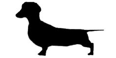 Here's a free dachshund applique/quilt template to download :)